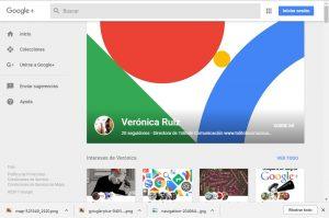 cuenta Google+