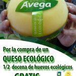 Cartel Queso ecológico