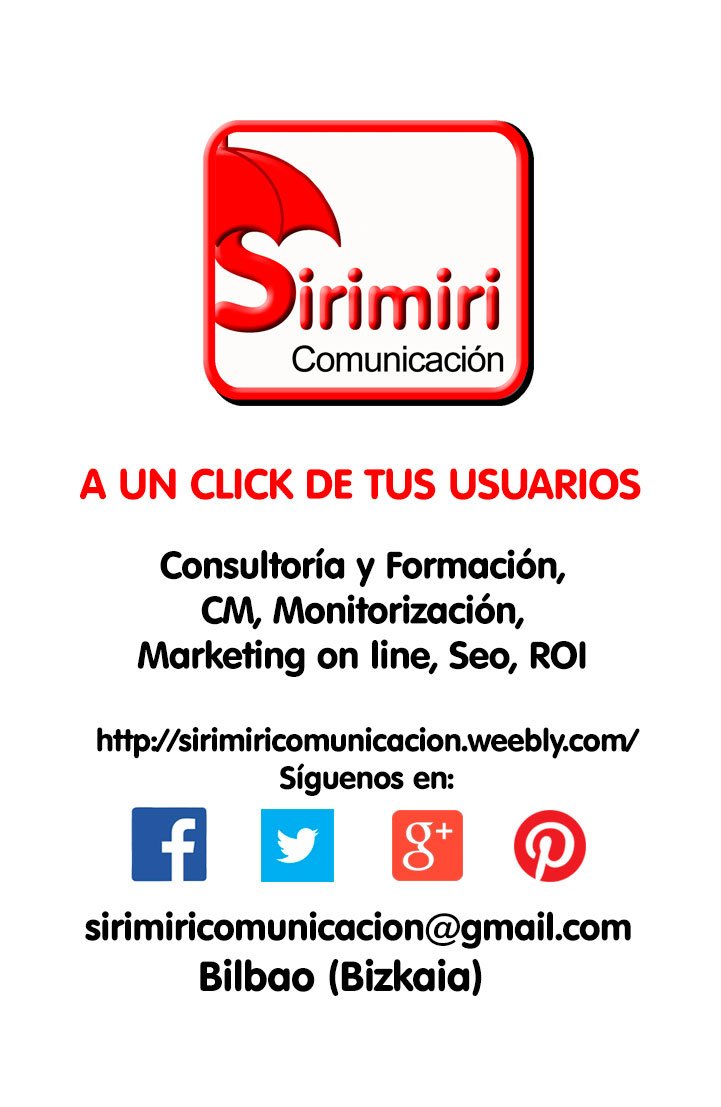 Tarjeta Sirimiri Comunicación