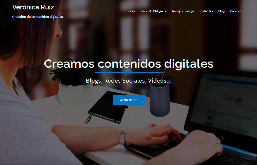 Veronica Ruiz web renovada mayo 2018
