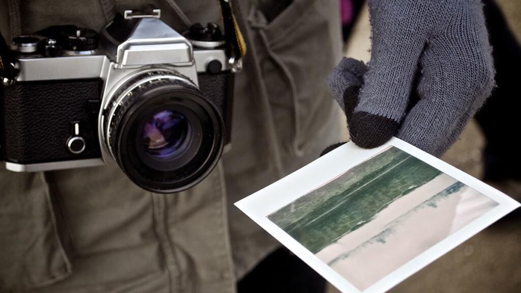 Control de contenido sobre la web de fotografía.