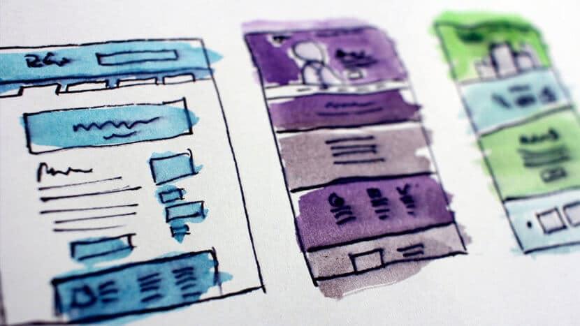 estructura de navegación de un website