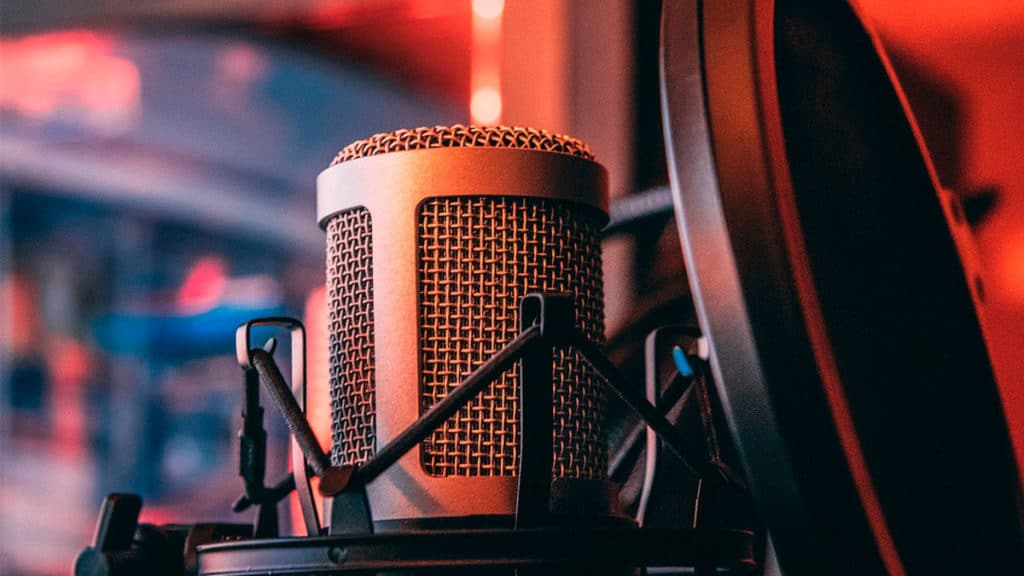 micrófono para grabar