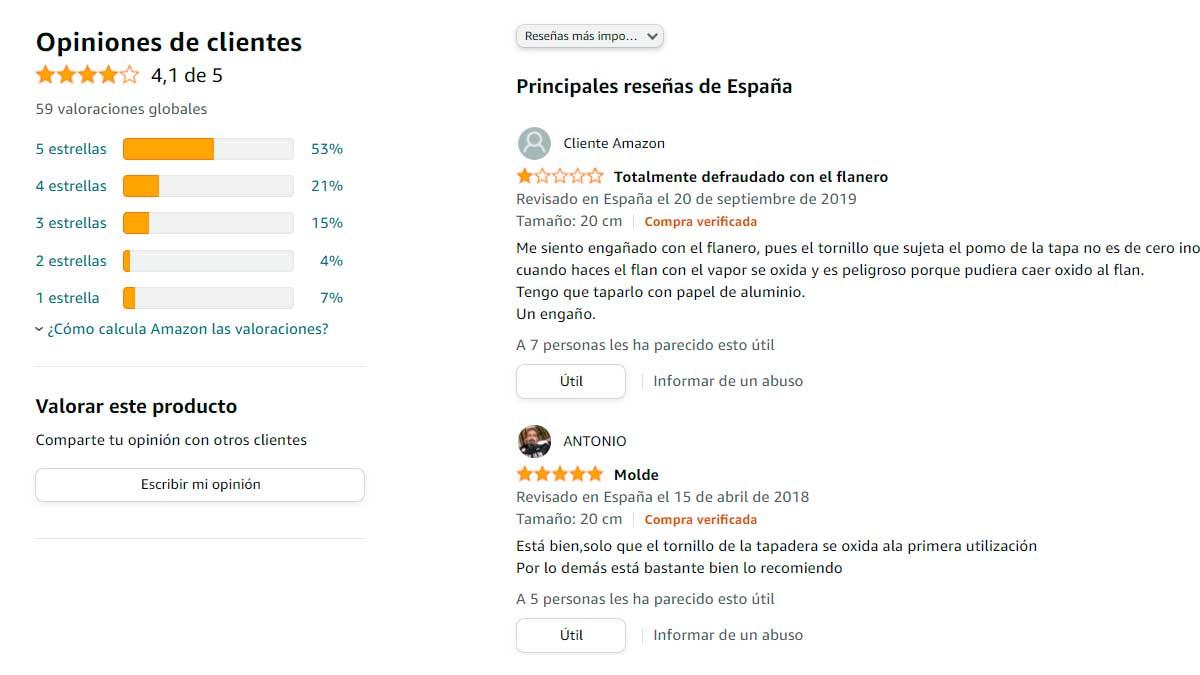 La importancia de las reseñas de Amazon
